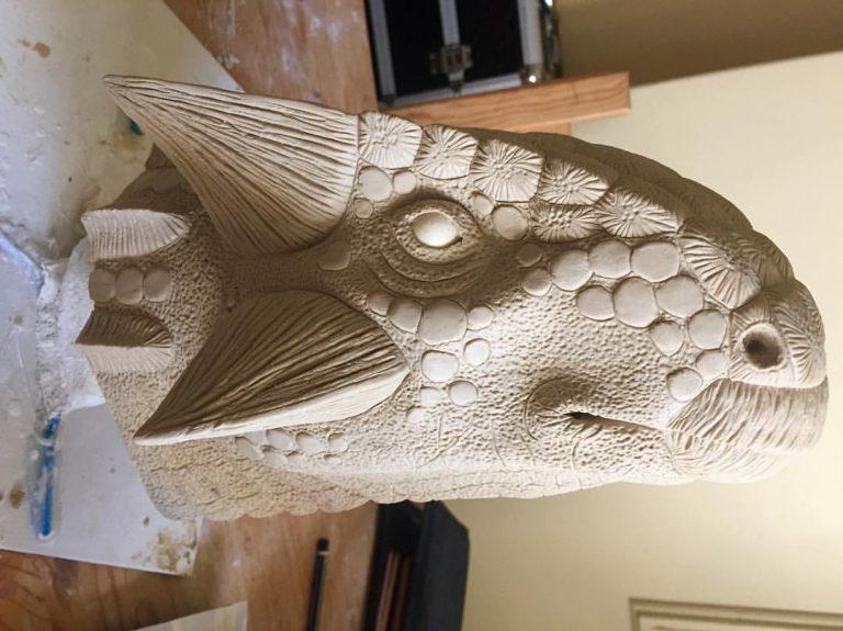 Ankylosaur sculpt