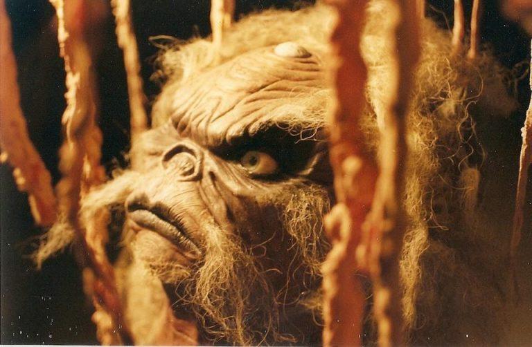 Aughra puppet head