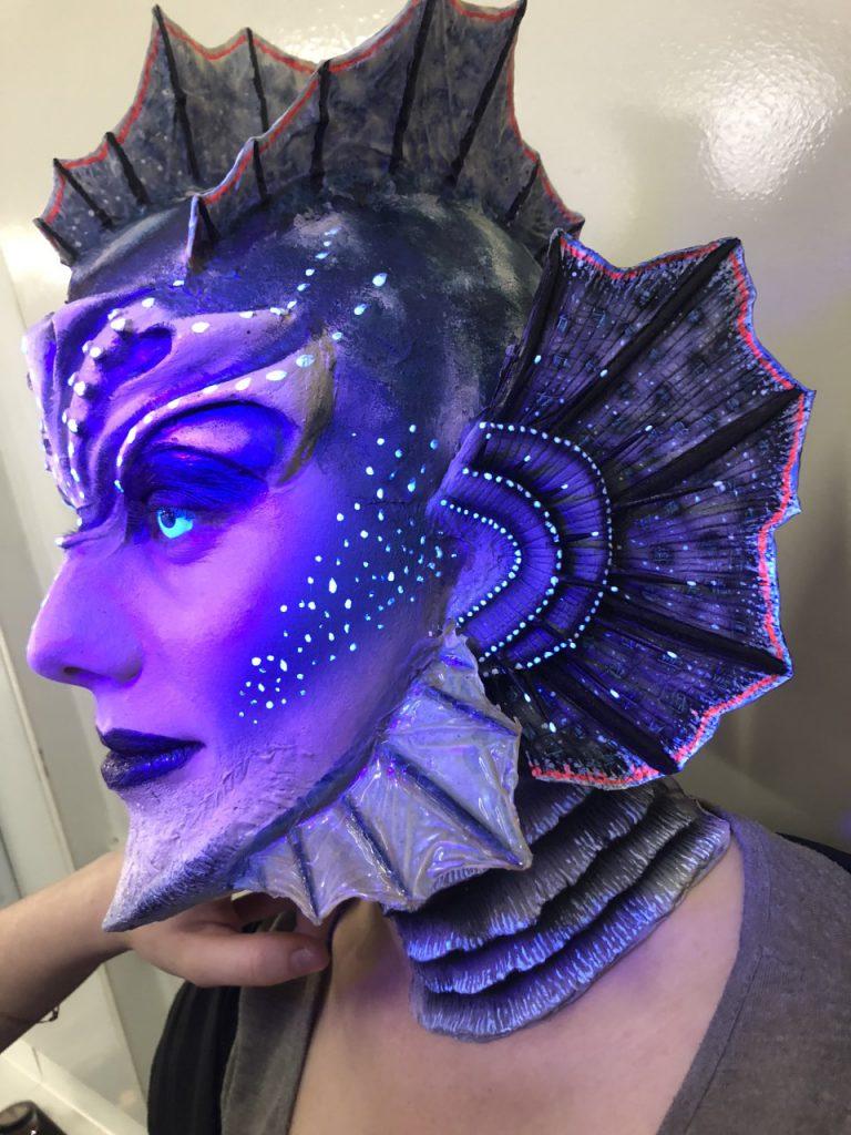 Deep sea UV Mermaid