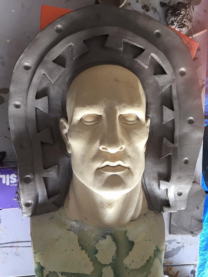 Engineer head sculpt