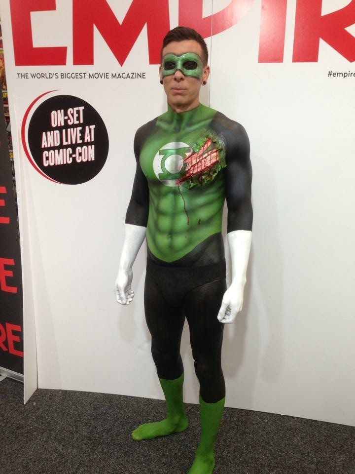 Green lantern body paint