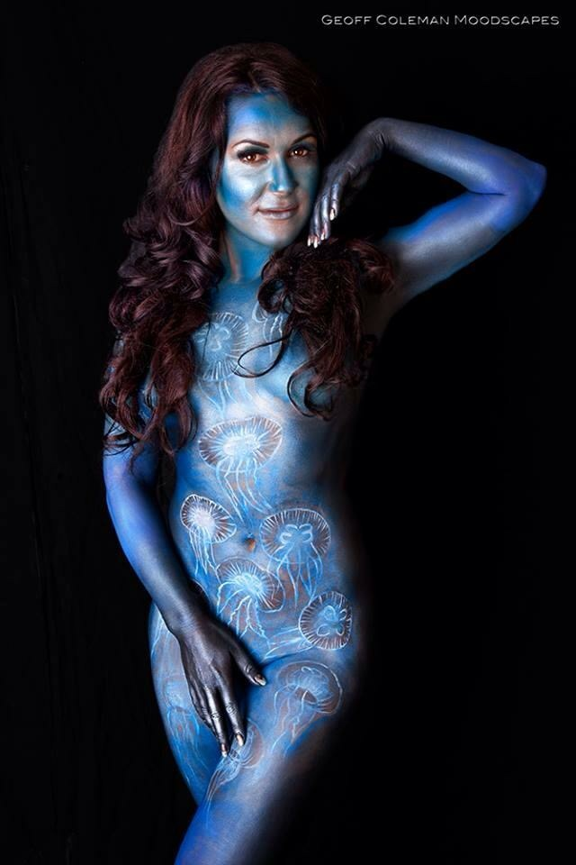 Sea Body paint