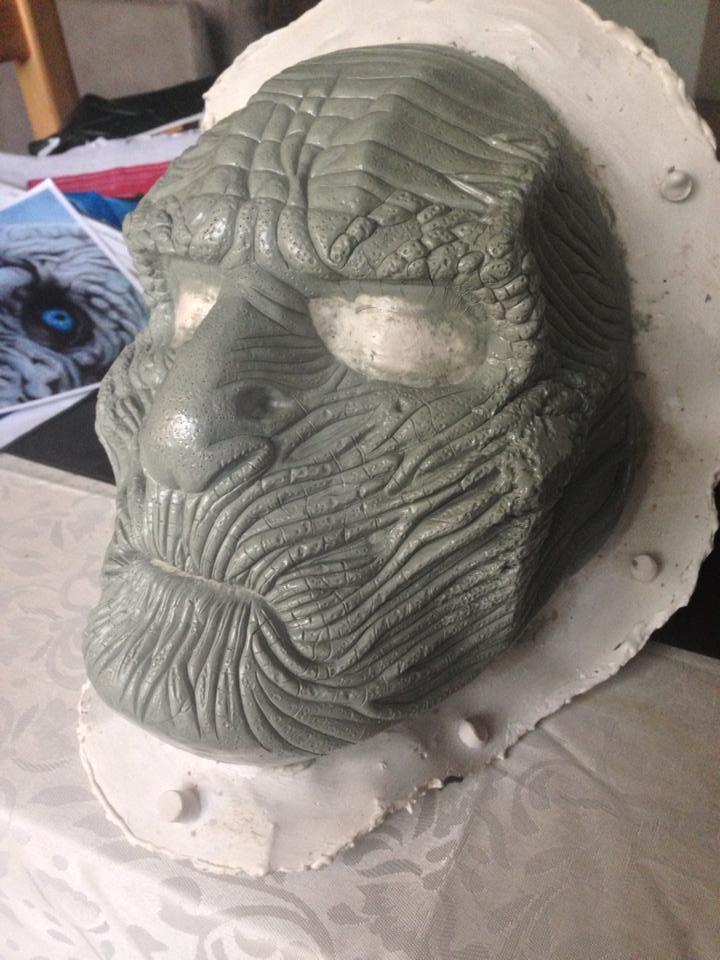 white walker sculpt