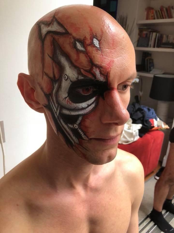 Terminator head paint